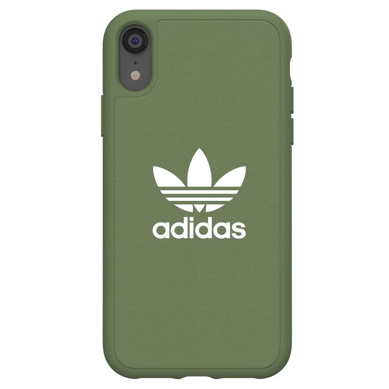 Groene Adicolor Moulded Case voor de iPhone Xr