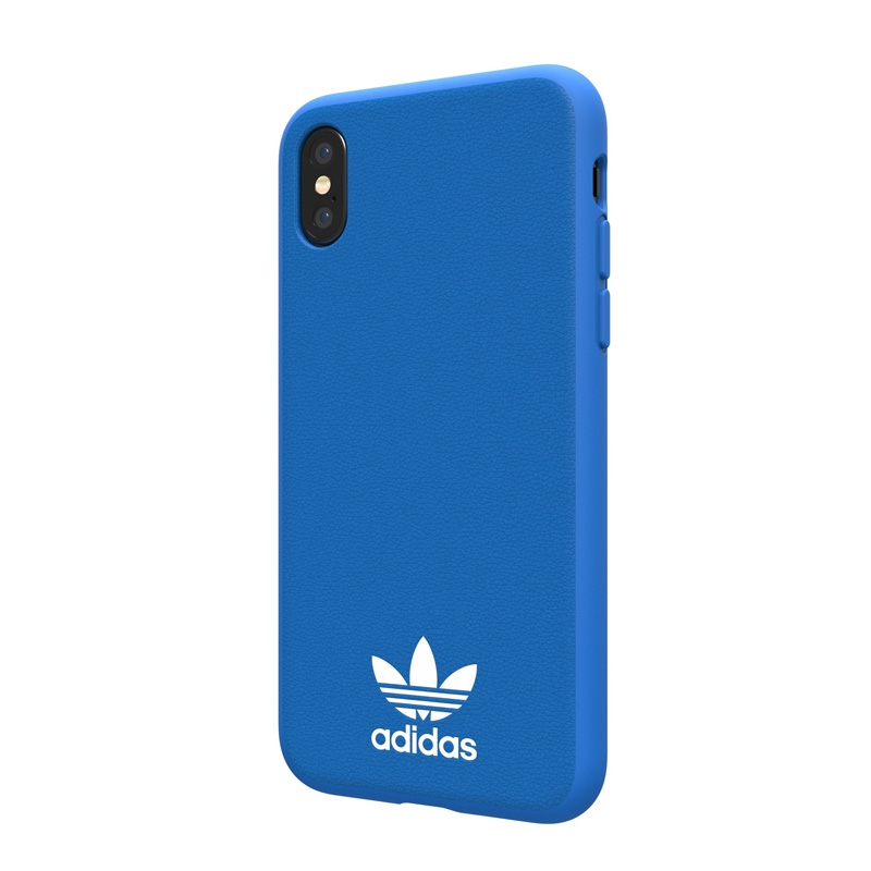 Blauwe Basic Logo Case voor de iPhone X