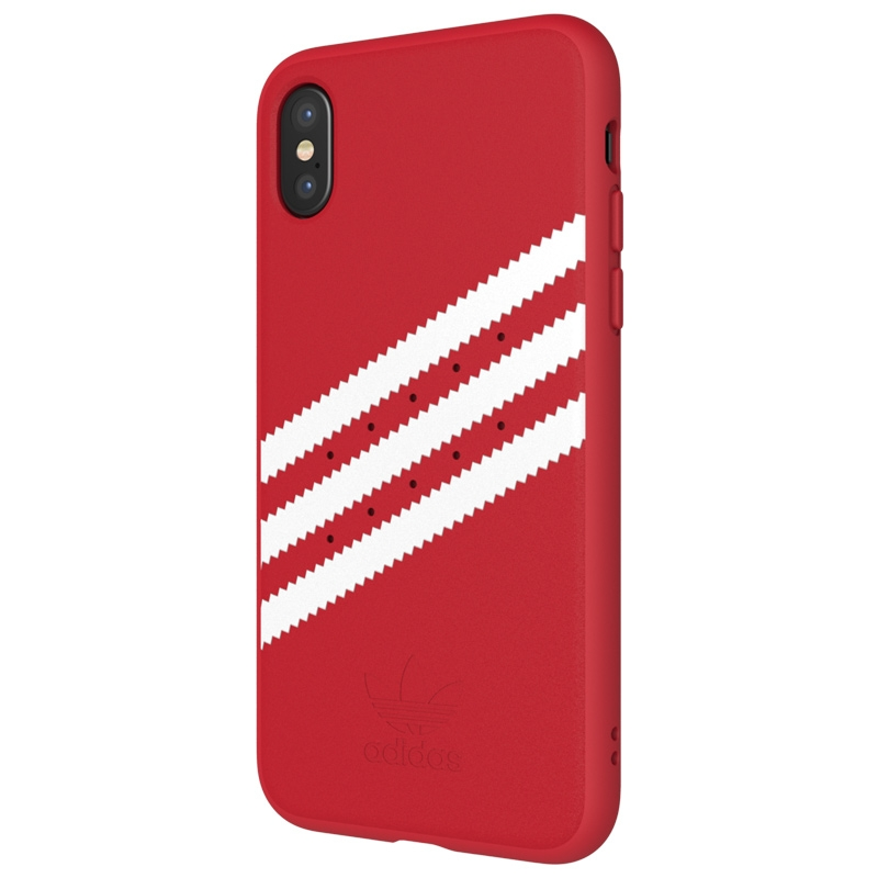 Scarlet OR Moulded Suede Case voor de iPhone X