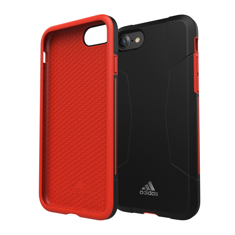 Adidas SP Solo Apple iPhone 6-6s-7 Back Cover Zwart-Rood