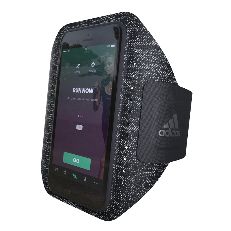 Adidas running band zwart voor Apple iPhone 7