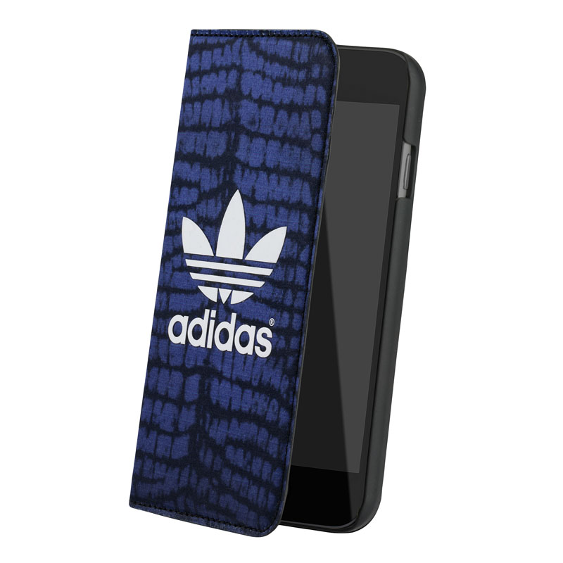 Booklet Case Crocodile iPhone 6 Blauw