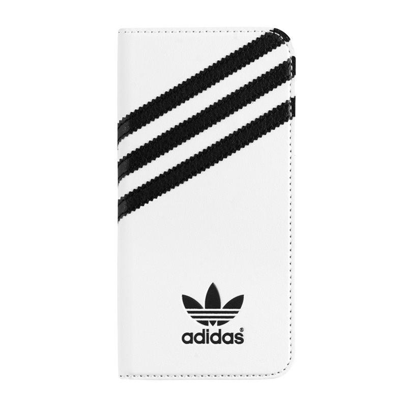 adidas Originals Booklet Case White-Black iPhone 6-6S