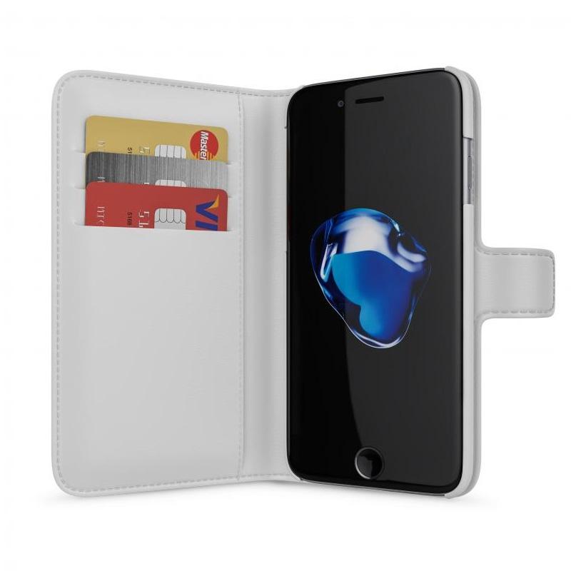BeHello Wallet Case Apple iPhone 7 Wit