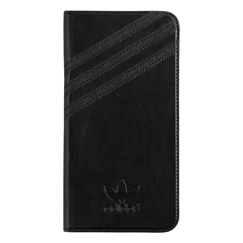 Adidas Originals Booklet Case Black-Black iPhone 6 Plus-6S Plus