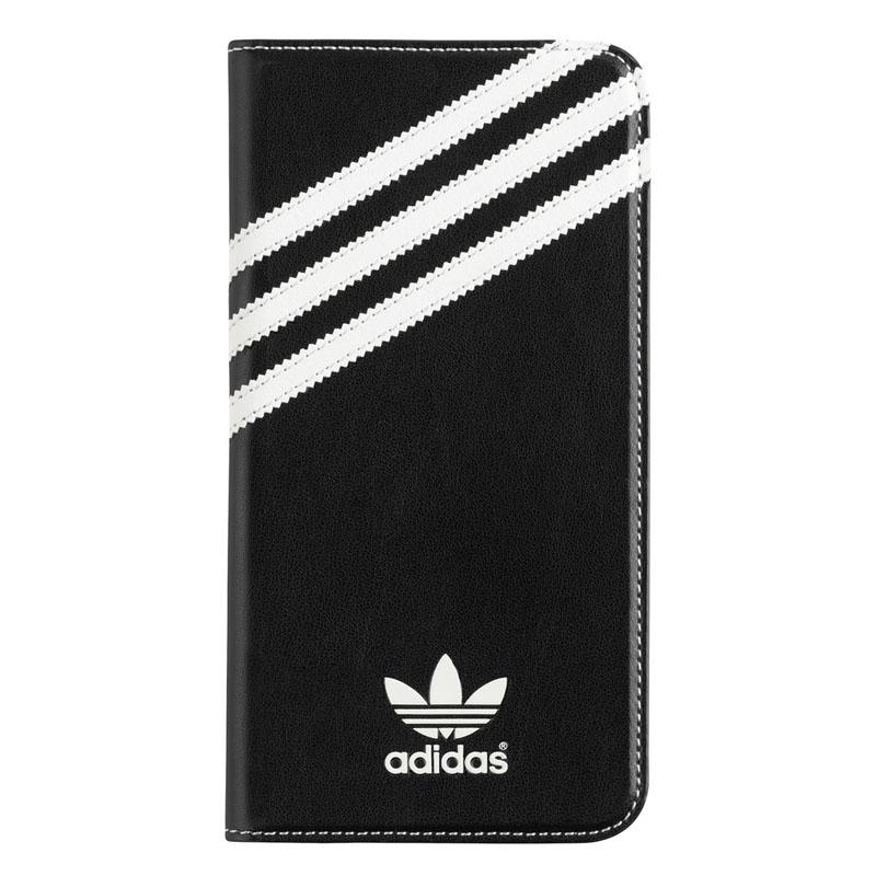 adidas Originals Booklet Case Black-White iPhone 6 Plus-6S Plus