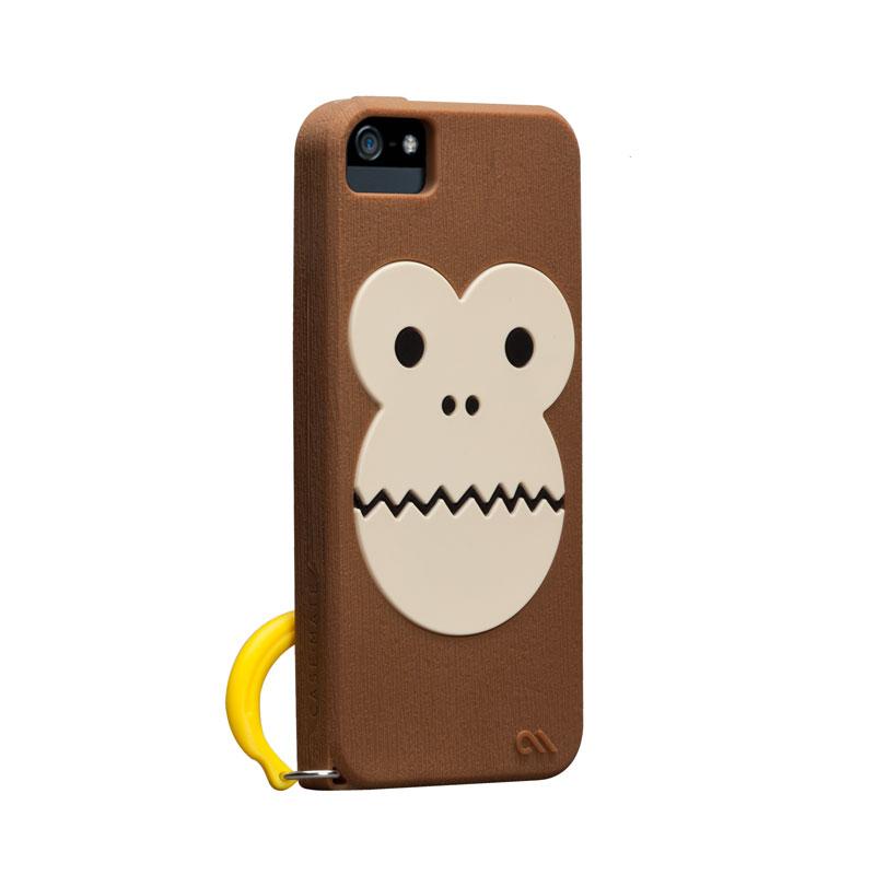 Case-Mate Creatures Bubbles Monkey voor Apple iPhone 5-5S-SE