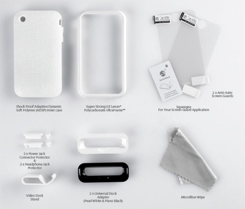 SwitchEasy Reptile iPhone Case White - 8