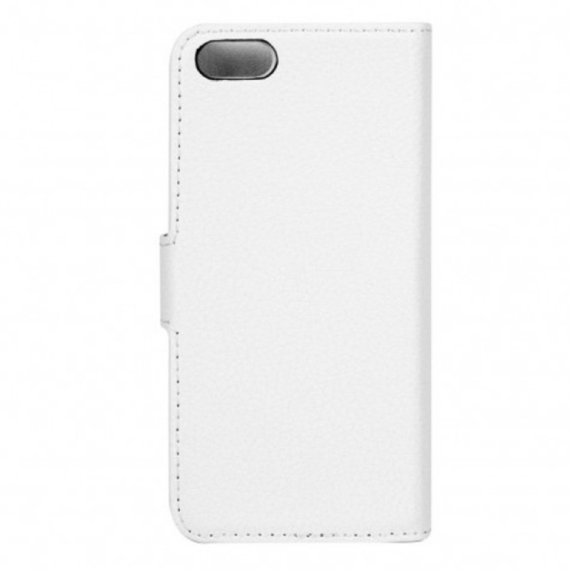 Xqisit - Slim Wallet Case iPhone SE / 5S / 5 White 03