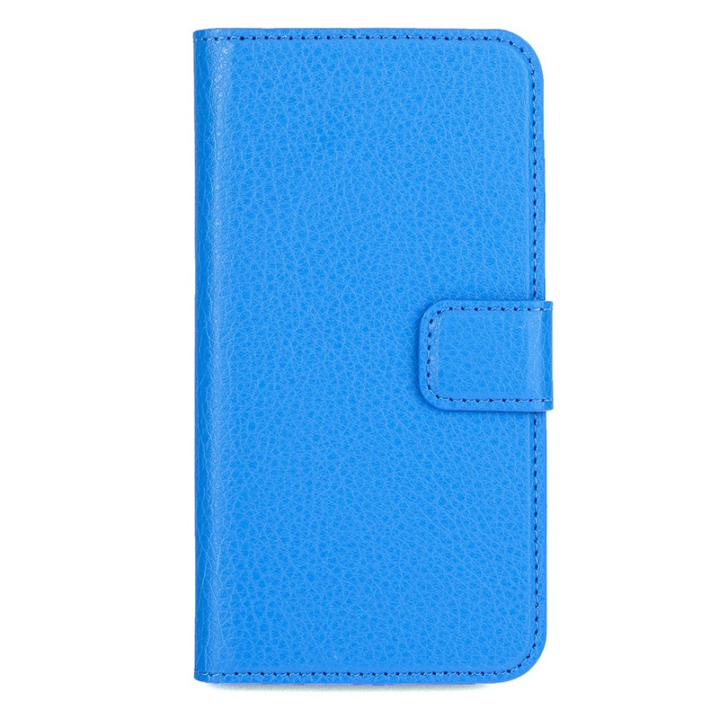 Xqisit - Slim Wallet Case iPhone SE / 5S / 5 Blue 02