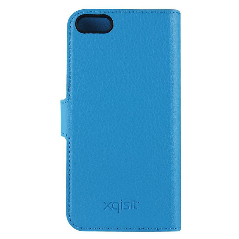 Xqisit - Slim Wallet Case iPhone SE / 5S / 5 Blue 03