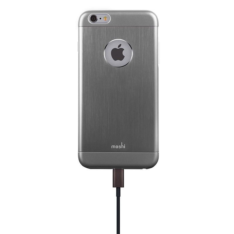 Moshi - iGlaze Armour iPhone 6 Plus / 6S Plus Grey 05