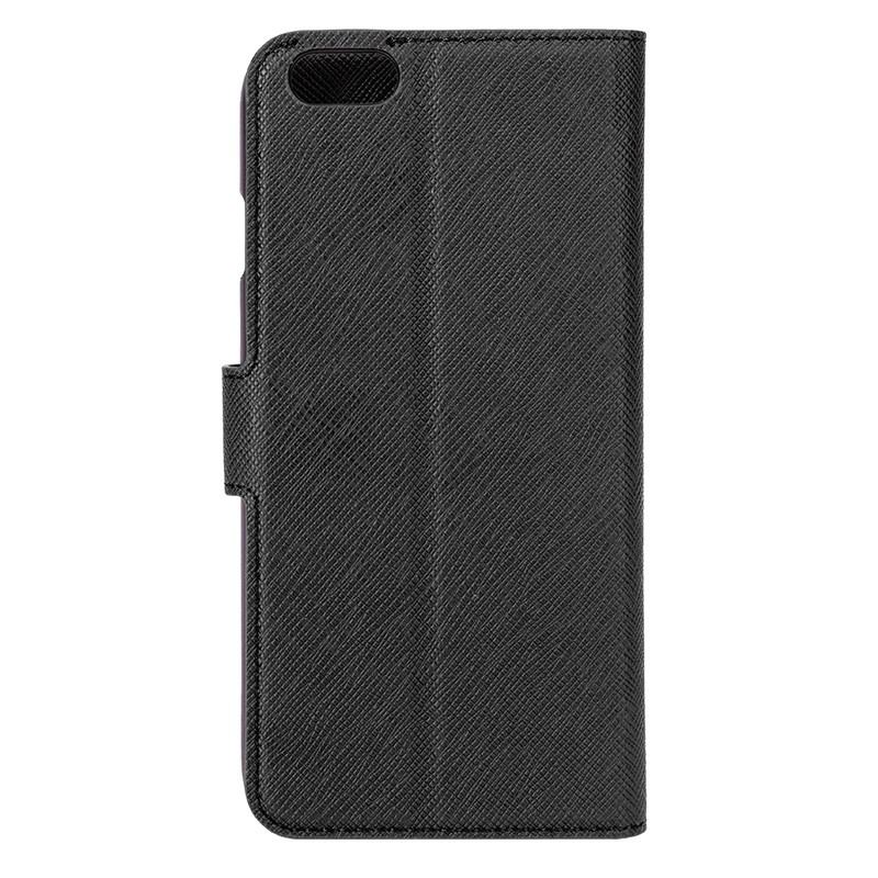 Xqisit - Wallet Case Viskan iPhone 6 / 6S Black 04