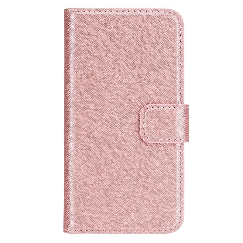 Xqisit - Wallet Case Viskan iPhone SE / 5S / 5 Pink 02