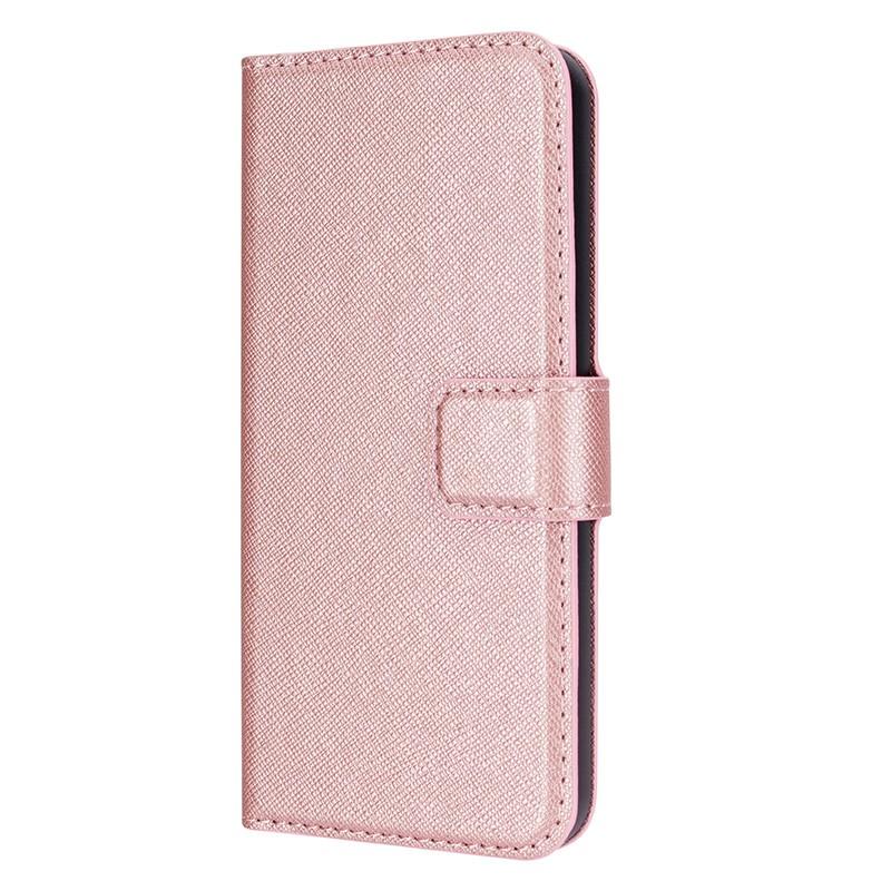 Xqisit - Wallet Case Viskan iPhone SE / 5S / 5 Pink  04