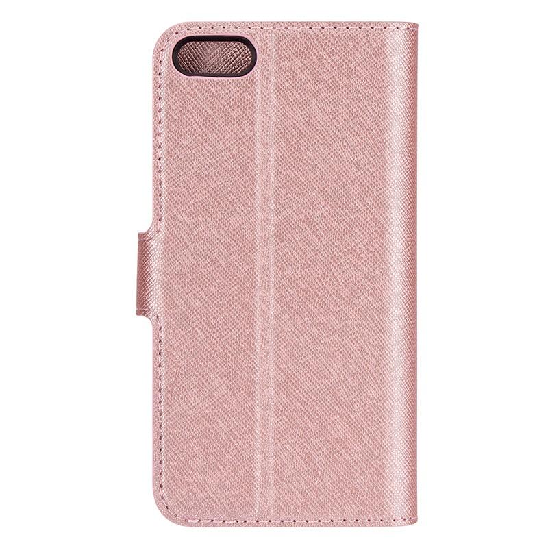 Xqisit - Wallet Case Viskan iPhone SE / 5S / 5 Pink 03