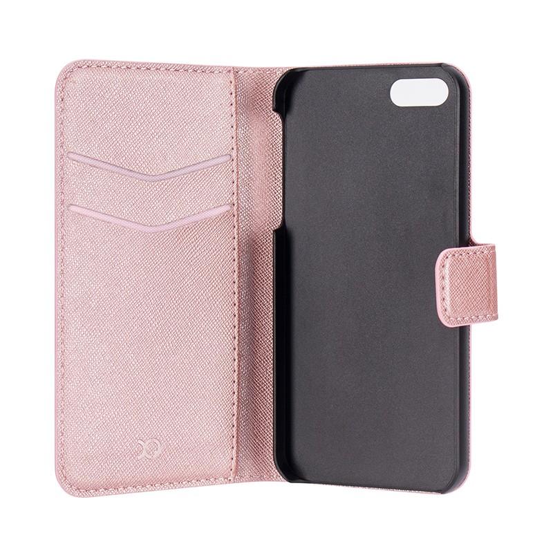 Xqisit - Wallet Case Viskan iPhone SE / 5S / 5 Pink 05