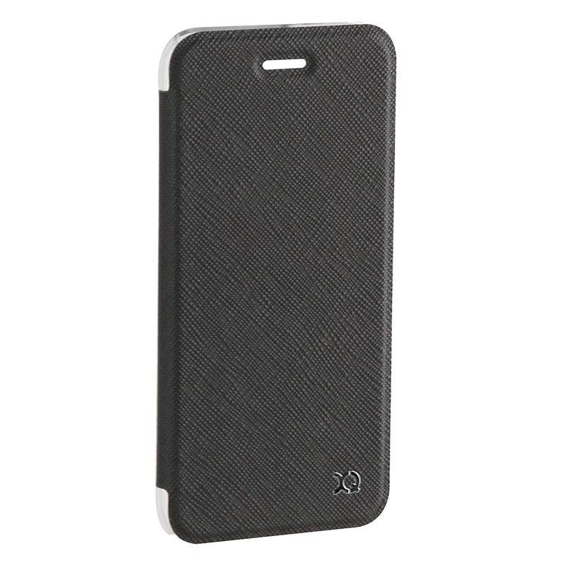 Xqisit Flap Cover Adour iPhone 7 hoes zwart 02