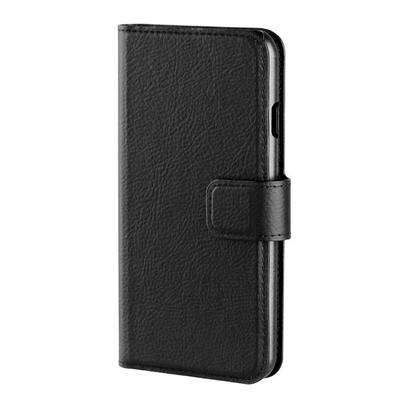 Xqisit Slim Wallet iPhone 7 hoes zwart 02