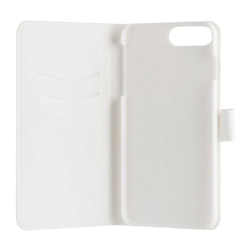 Xqisit Slim Wallet iPhone 7 hoes wit 04