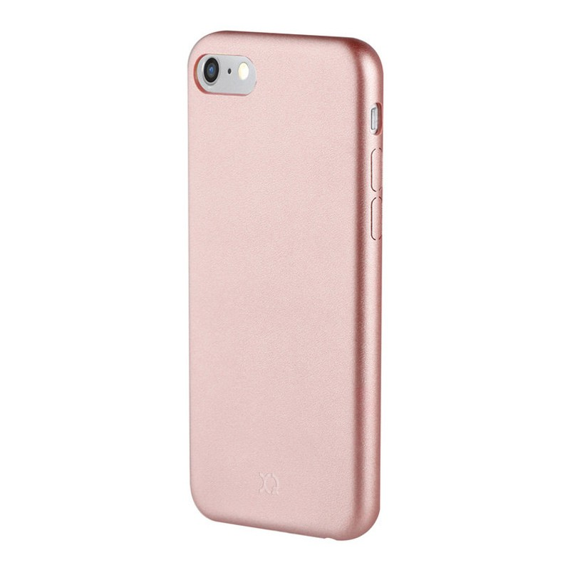 Xqisit iPlate Gimone iPhone 7 Plus hoes RoseGold 01