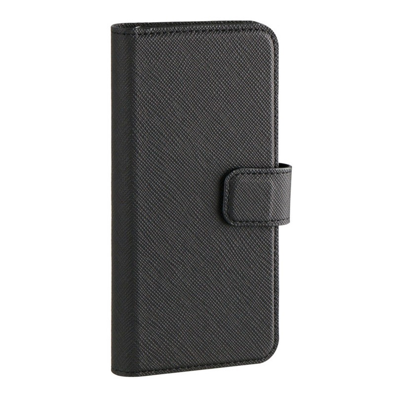 Xqisit Wallet Case Viskan iPhone 8 Plus/7 Plus/6S Plus/6 Plus zwart 01