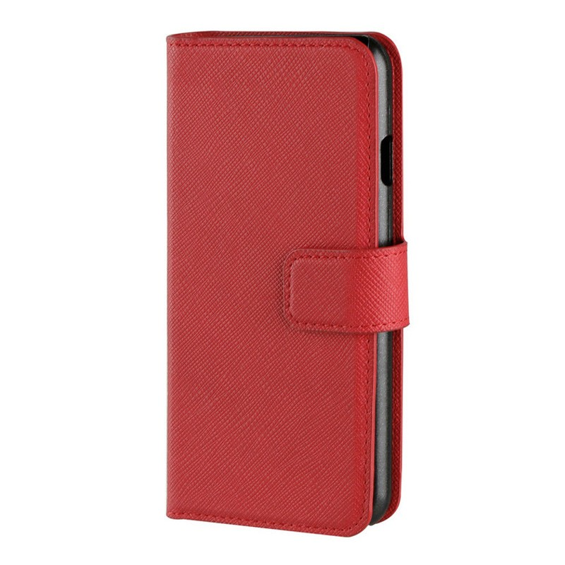 Xqisit Wallet Case Viskan iPhone 7 rood 02