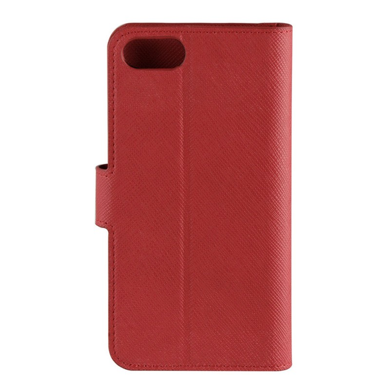 Xqisit Wallet Case Viskan iPhone 7 rood 04