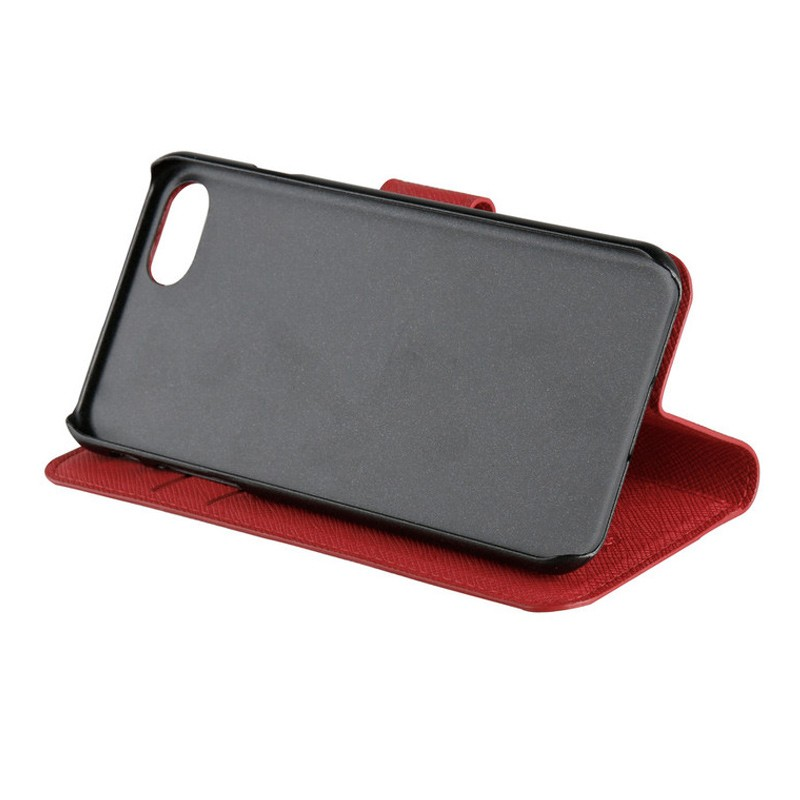 Xqisit Wallet Case Viskan iPhone 7 rood 06