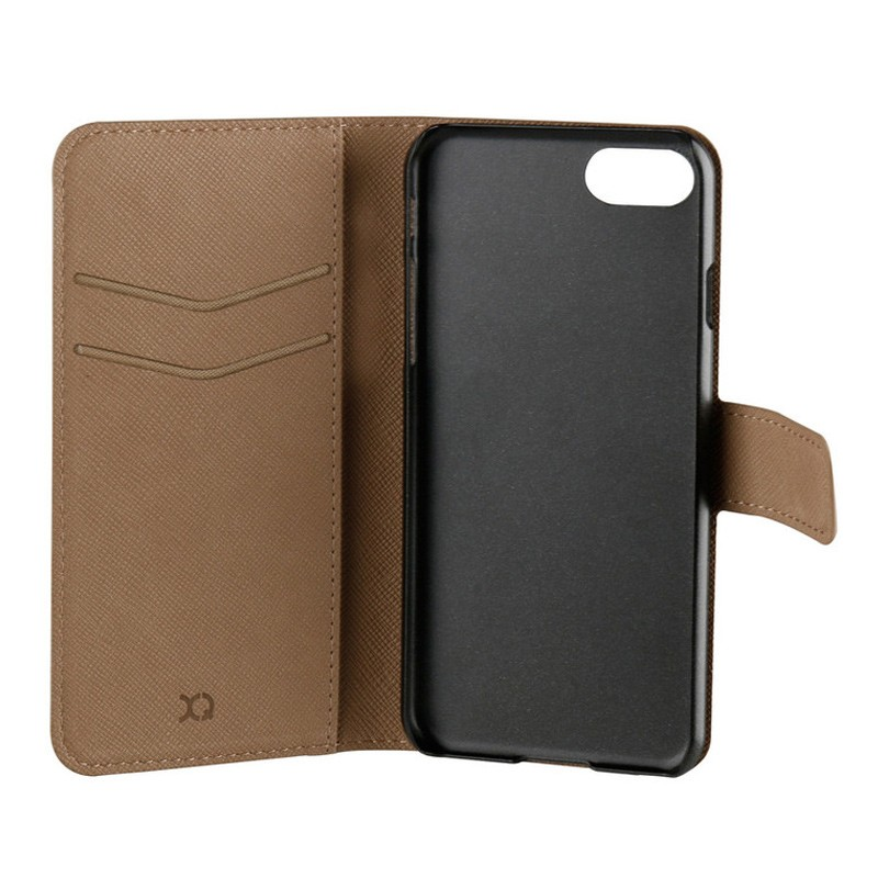 Xqisit Wallet Case Viskan iPhone 7 camel 05