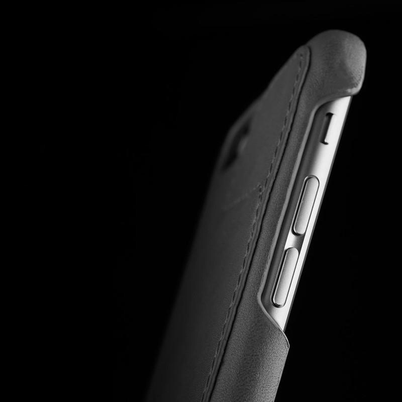 Mujjo Leather Wallet Case 80 iPhone 6 Plus Grey - 10