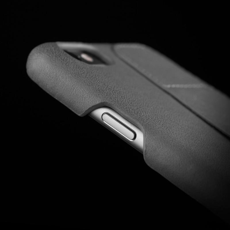 Mujjo Leather Wallet Case 80 iPhone 6 Plus Grey - 8