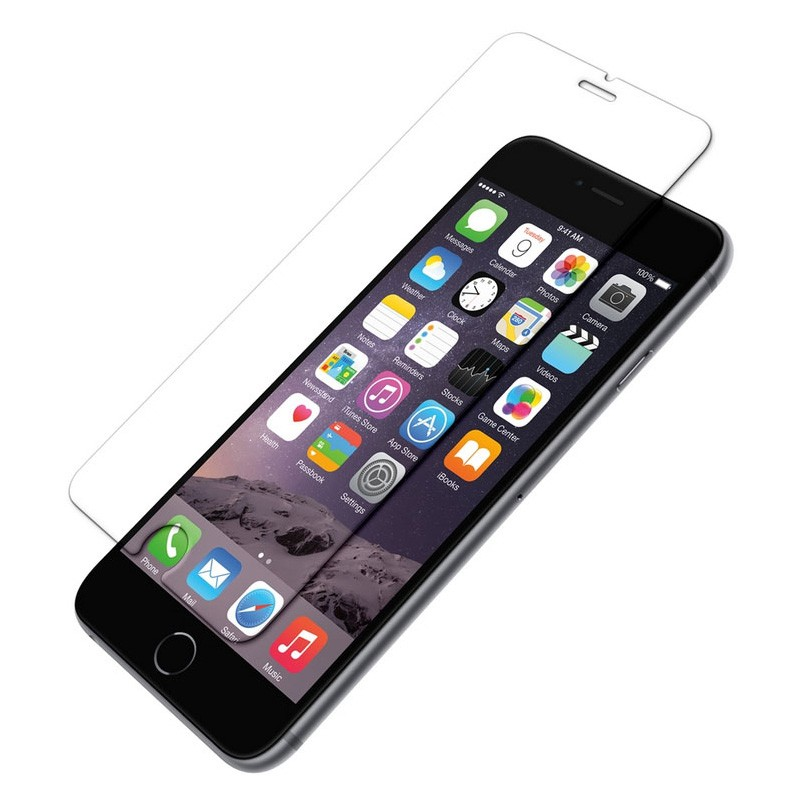 MobiQ Tempered Glass Screenprotector iPhone 6 / 6S - 1