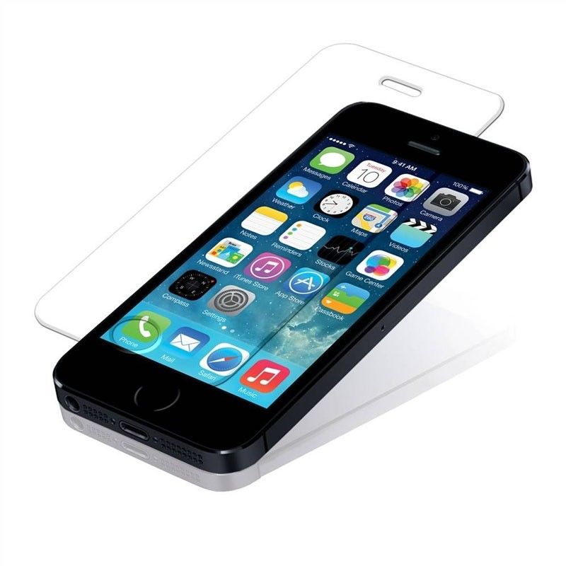Mobiq - 9H Tempered Glass Screenprotector iPhone 5/5S/5C - 1