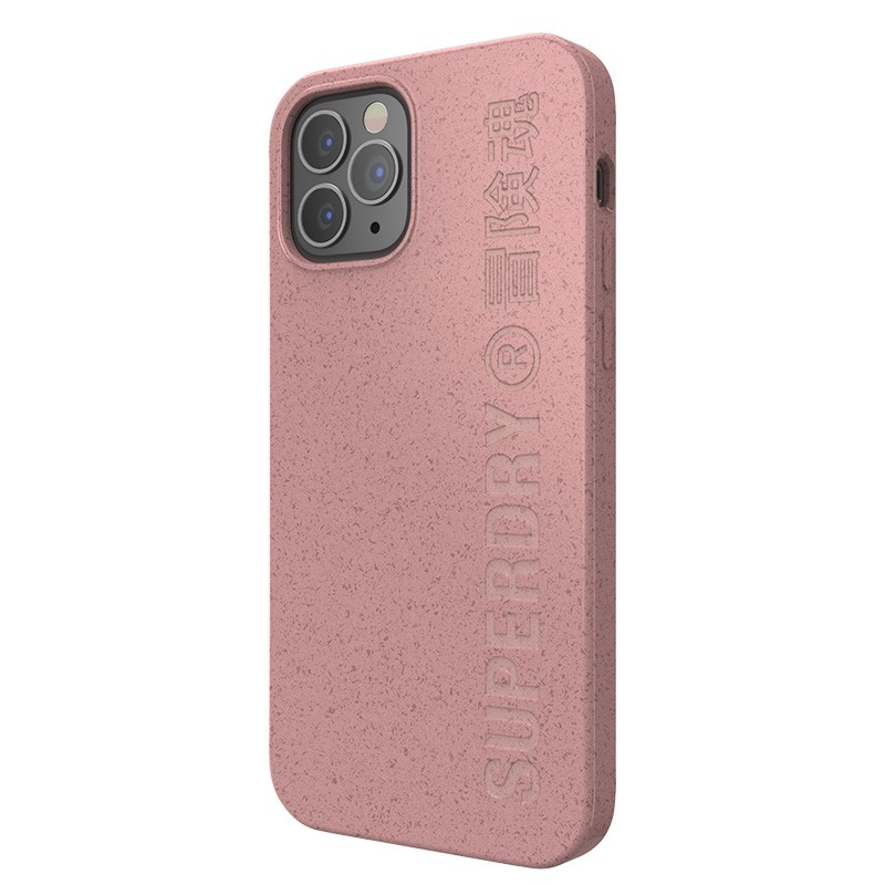 Superdry Compostable Snap Case iPhone 12 en iPhone 12 Pro Pink 04