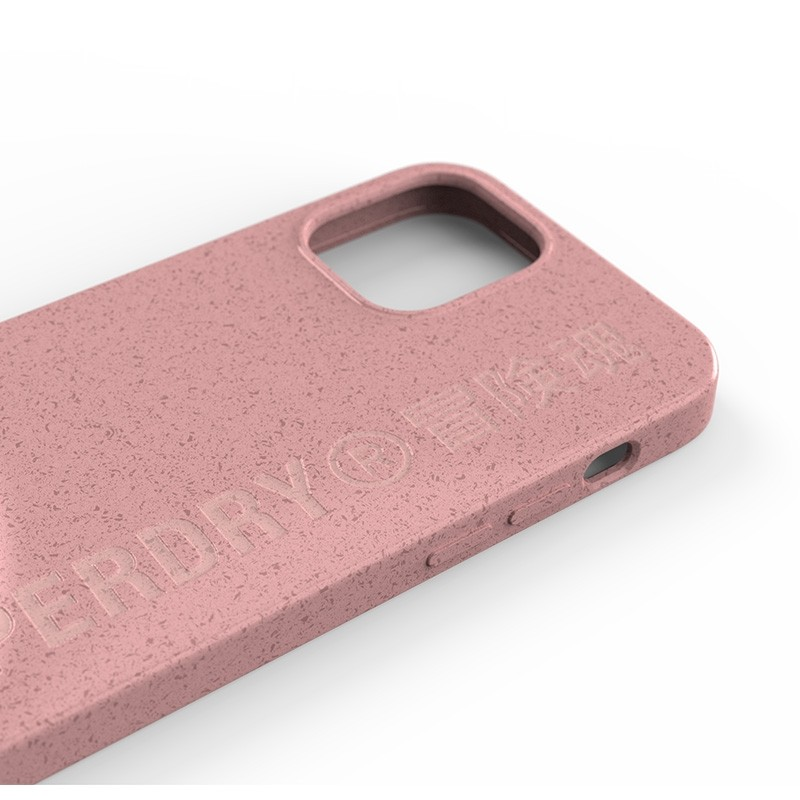 Superdry Compostable Snap Case iPhone 12 en iPhone 12 Pro Pink 06