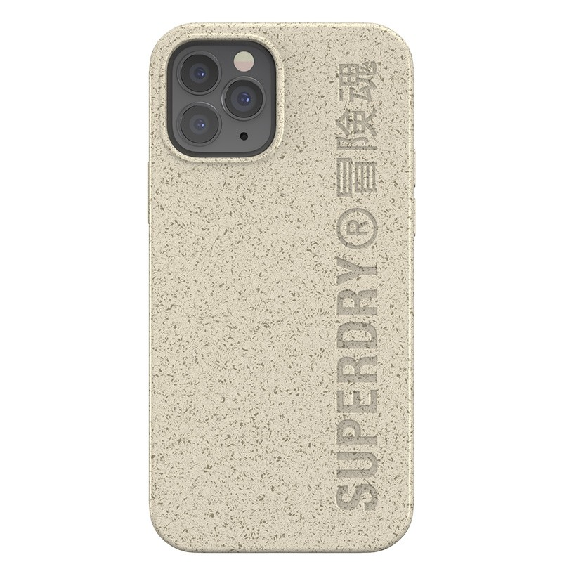 Superdry Compostable Snap Case iPhone 12 / iPhone 12 Pro Wit 02