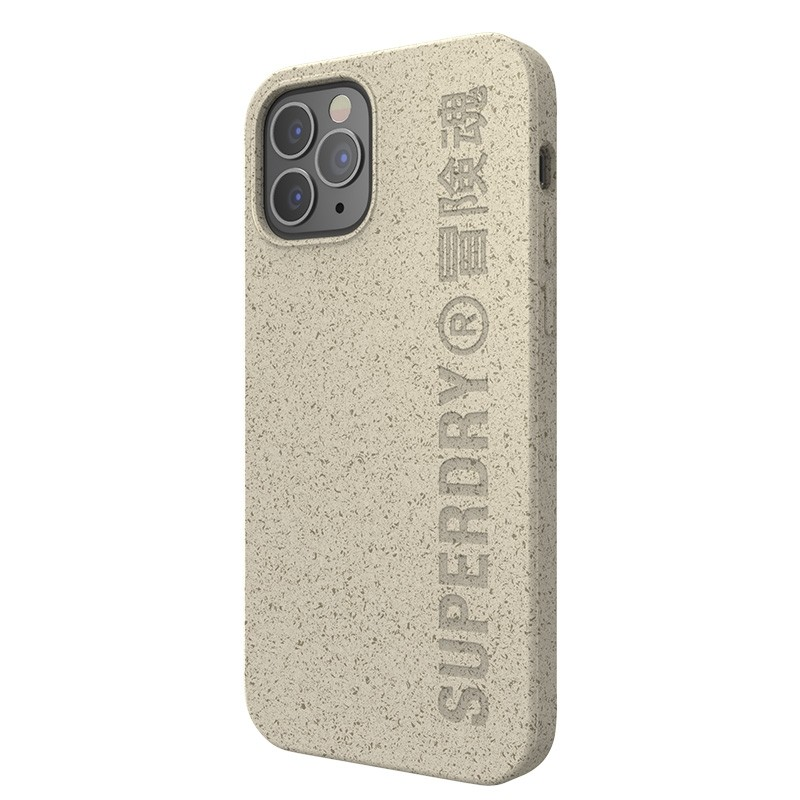 Superdry Compostable Snap Case iPhone 12 / iPhone 12 Pro Wit 04