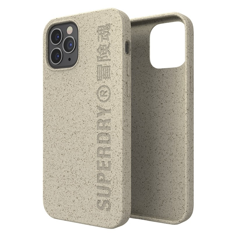 Superdry Compostable Snap Case iPhone 12 / iPhone 12 Pro Wit 03