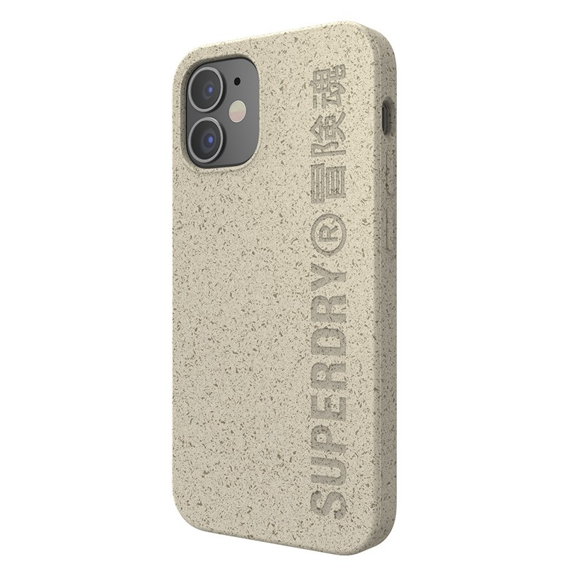 Superdry Compostable Snap Case iPhone 12 Mini wit 07