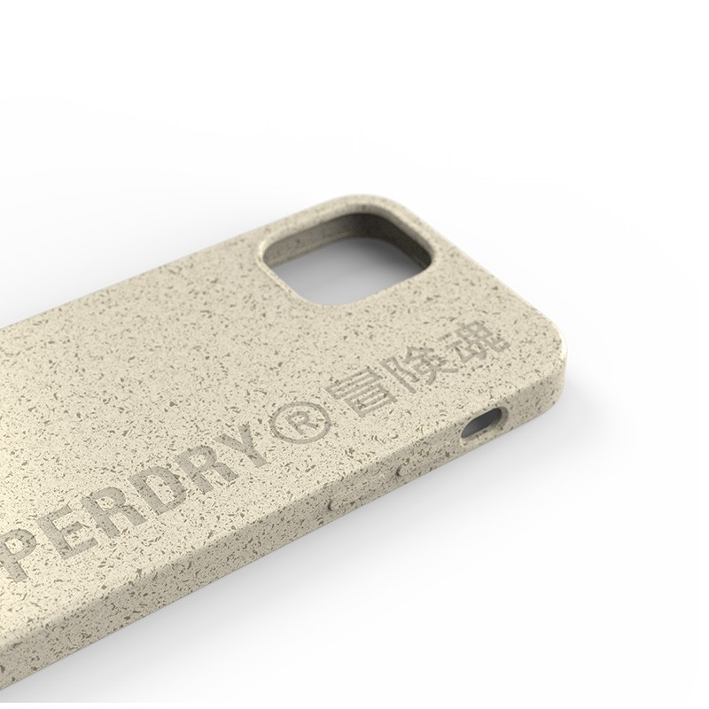Superdry Compostable Snap Case iPhone 12 Mini wit 05