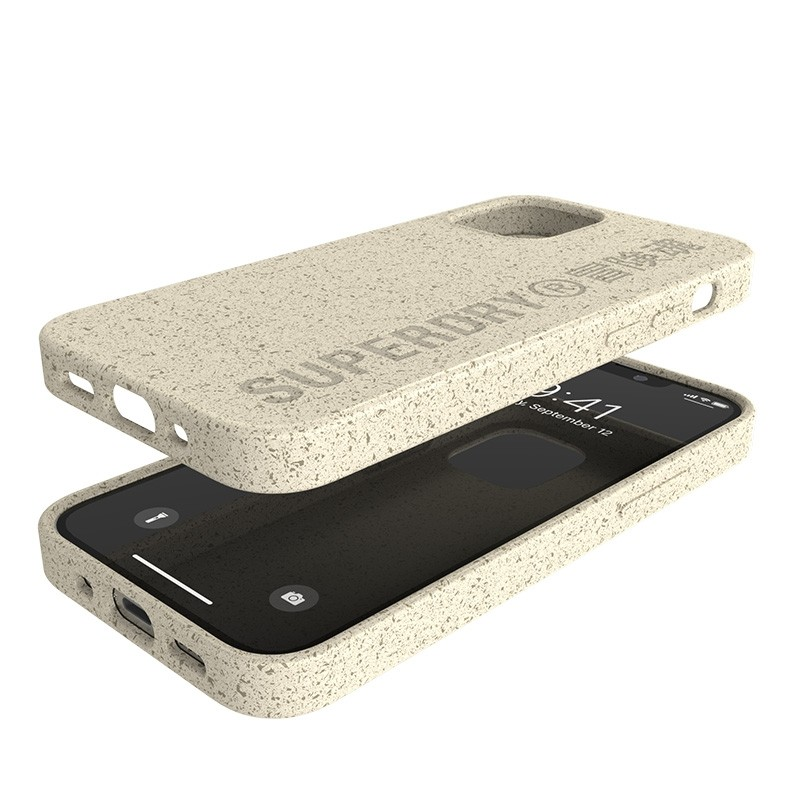 Superdry Compostable Snap Case iPhone 12 Mini wit 06