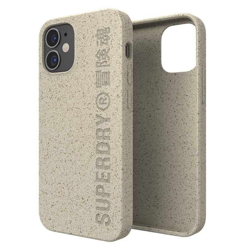 Superdry Compostable Snap Case iPhone 12 Mini wit 03