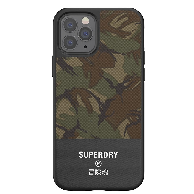 Superdry Moulded Case Canvas iPhone 12 / iPhone 12 Pro camo 05