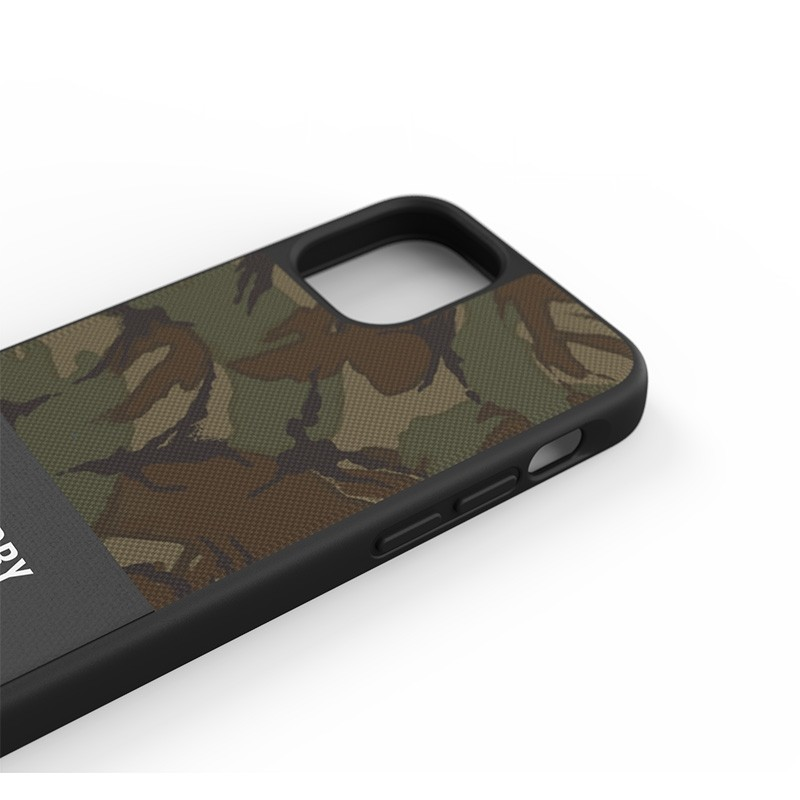 Superdry - Moulded Case Canvas iPhone 12 Mini camo 06