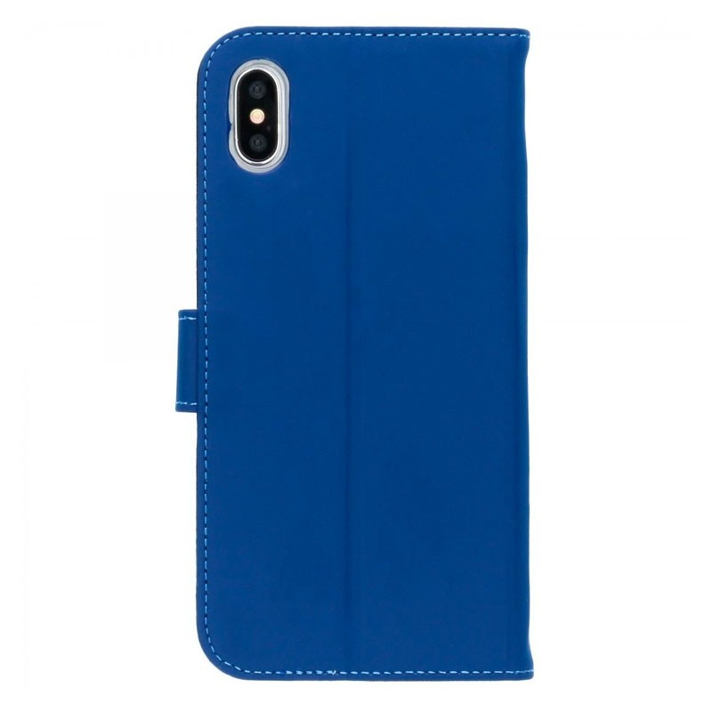 Accezz Booklet Wallet iPhone XS Max Blauw - 3
