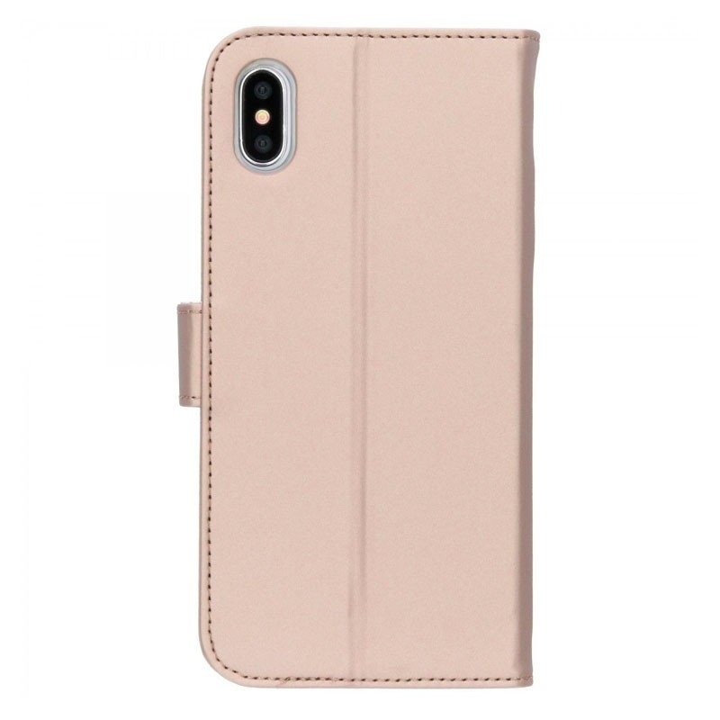 Accezz Booklet Wallet iPhone XS Max Goud - 3