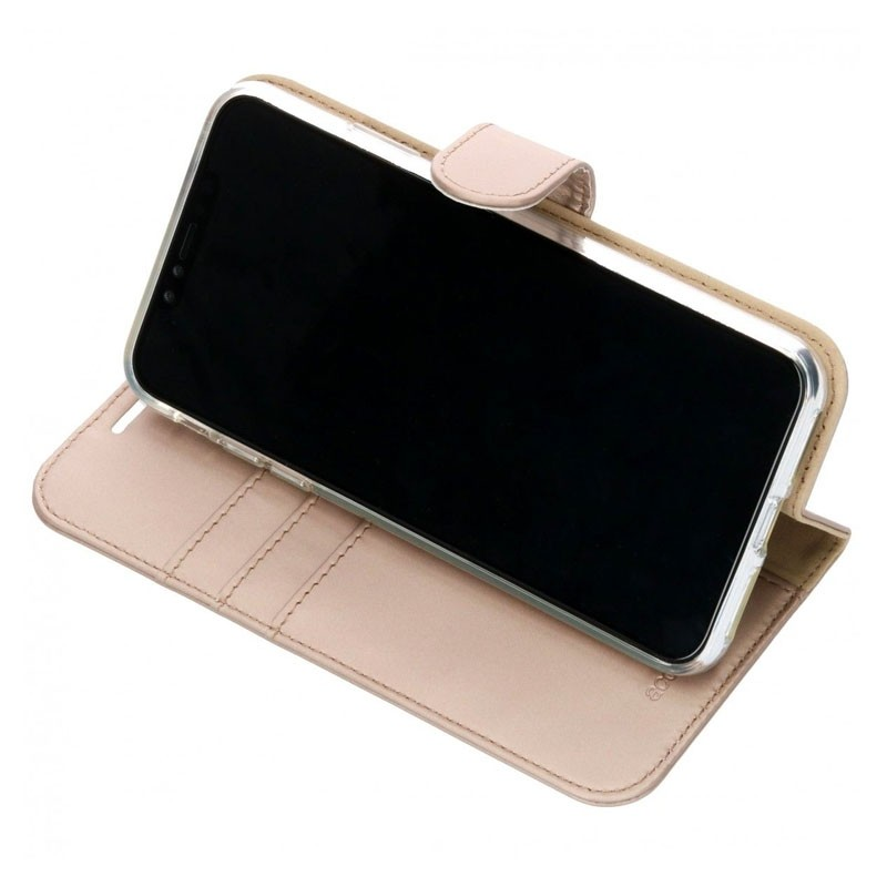 Accezz Booklet Wallet iPhone XS Max Goud - 4