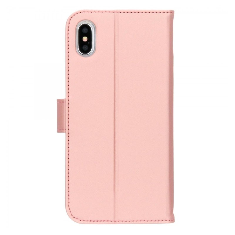 Accezz Booklet Wallet iPhone XS Max Roze - 3