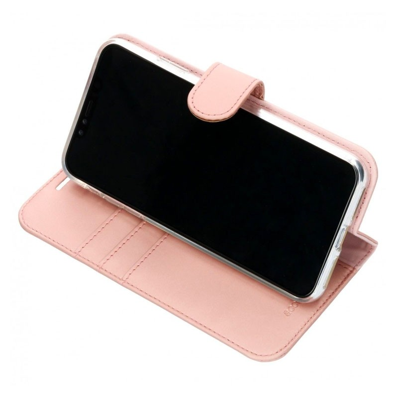 Accezz Booklet Wallet iPhone XS Max Roze - 4